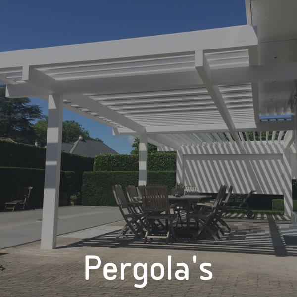 Pergola's van P&G Metaalwerken