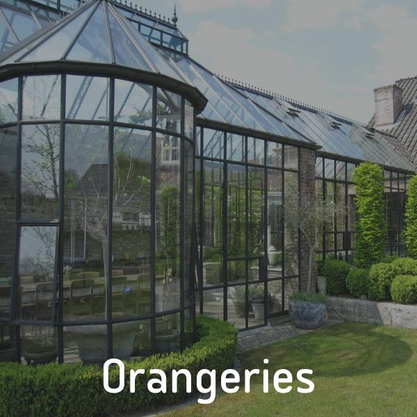 Orangeries wintertuinen van P&G Metaalwerken