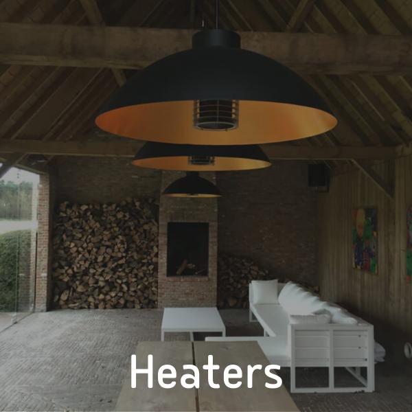 Dome heaters van P&G Metaalwerken
