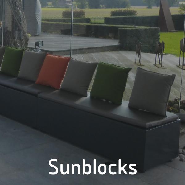 Design windschermen. Sunblocks van P&G Metaalwerken