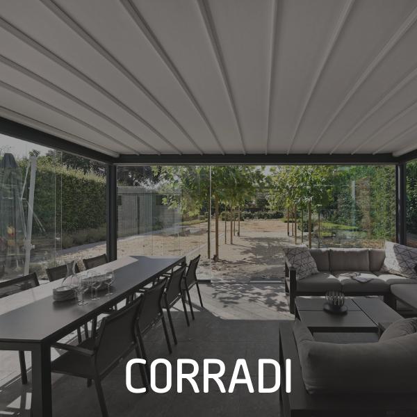 Corradi Outdoor verdeler en plaatsing van P&G Metaalwerken