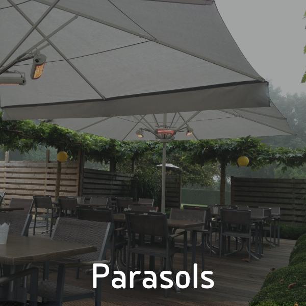 Parasols van P&G Metaalwerken