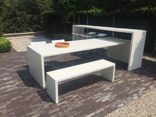 PROJECT IN DE KIJKER: Aluminium tafels op maat